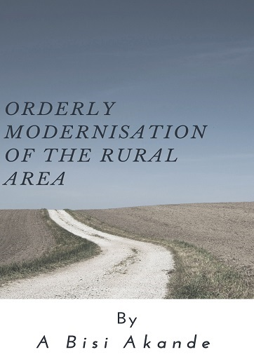 Orderly Modernisation Modernisation of the Rural Area