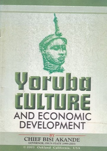 Yoruba Culture and Economic Development